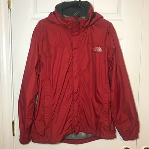 The North Face Red Rain Jacket